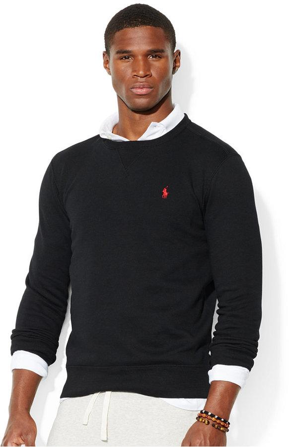 ... Polo Ralph Lauren Classic Fleece Crew Neck Sweater ...
