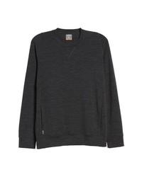 ICEBREAKE R Shifter Merino Wool Blend Crewneck Sweater