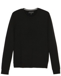 Mens Black Crew Neck Sweaters By Rag And Bone Mens Fashion