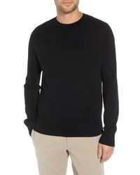 Vince Regular Fit Ottoman Stitch Wool Sweater