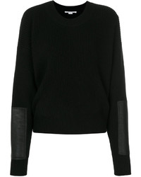 Ribbed crew neck sweater medium 5266882