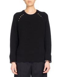 Kenzo Ribbed Sport Comfort Sweater Black