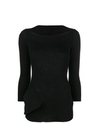 Y's Scoop Neck Sweater