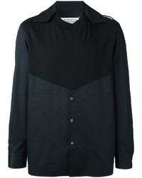 Maison Margiela Spliced Long Sleeve Shirt