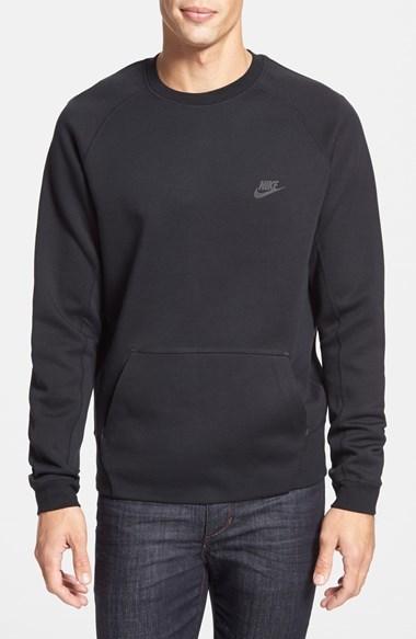 713992ea Nike Tech Fleece Thermal Crewneck Sweatshirt, $90 | Nordstrom ...