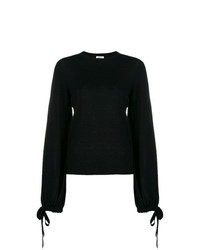 P.A.R.O.S.H. Tie Sleeve Lightweight Sweater