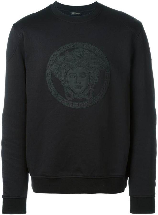Versace Medusa Sweatshirt   Where to buy   how to wear 7556ee65c5b
