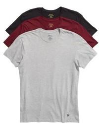 Polo Ralph Lauren 3 Pack Crewneck Cotton T Shirts