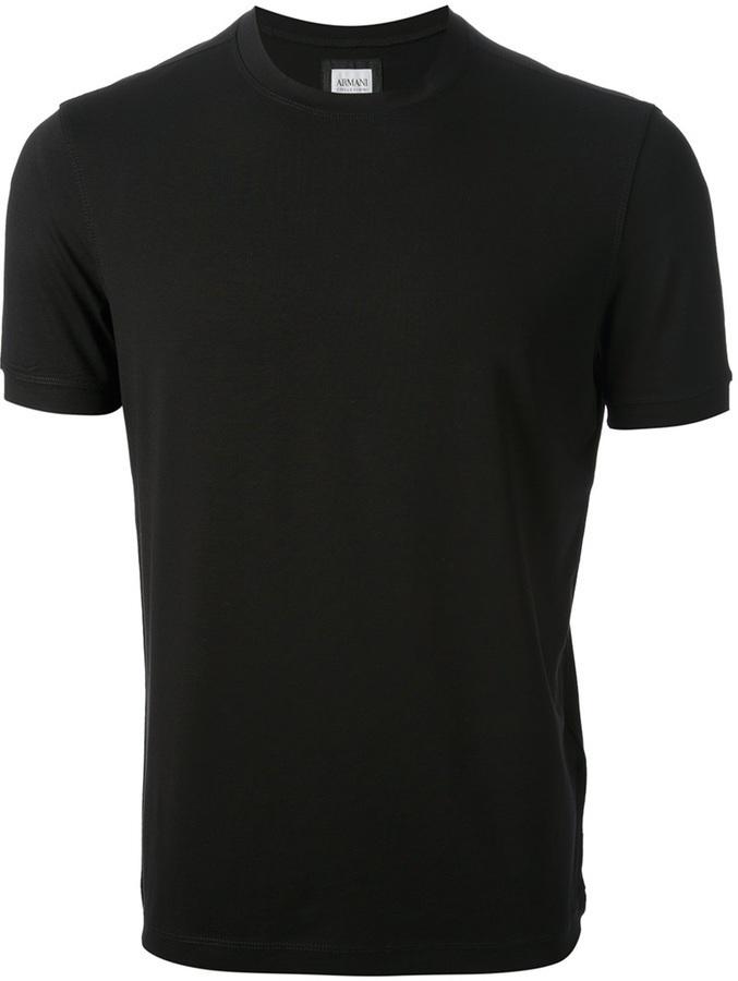 Armani Collezioni Crew Neck T Shirt
