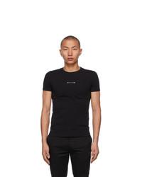 1017 Alyx 9Sm Black Address Logo T Shirt