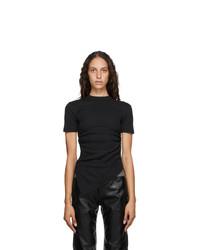 Andersson Bell Black Asymmetric Cindy T Shirt