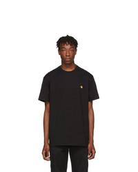 CARHARTT WORK IN PROGRESS Black Chase T Shirt