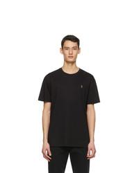 Polo Ralph Lauren Black Classic Fit Crewneck T Shirt