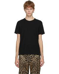 Tom Ford Black Cotton Crewneck T Shirt