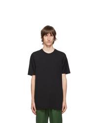 11 By Boris Bidjan Saberi Black Cotton Dye T Shirt
