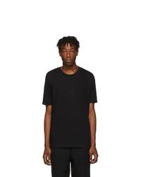 Jil Sander Black Cotton T Shirt