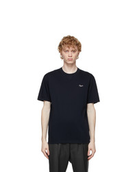 Ermenegildo Zegna Black Cotton T Shirt