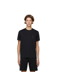 Neil Barrett Black Crystal Bolt T Shirt