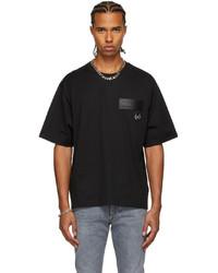 Dolce & Gabbana Black Faux  T Shirt