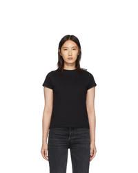 Balenciaga Black Fitted T Shirt