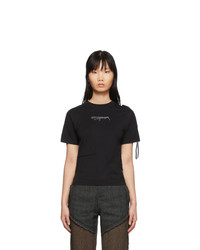 Ottolinger Black Fitted T Shirt
