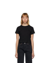 RE/DONE Black Hanes Edition 1950s Boxy T Shirt