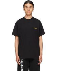 Vetements Black Iconic Logo T Shirt