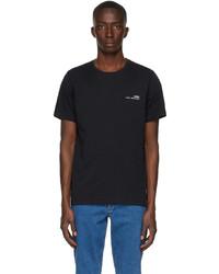 A.P.C. Black Item T Shirt