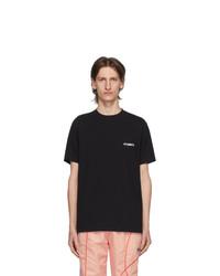 Vetements Black Logo Front Back T Shirt