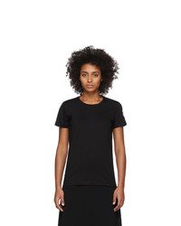 Moncler Black Logo Patch T Shirt