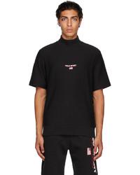Polo Ralph Lauren Black Logo Short Sleeve Sweatshirt