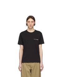 Comme Des Garcons SHIRT Black Logo T Shirt