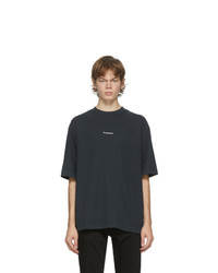 Acne Studios Black Logo T Shirt