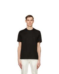 Brioni Black Logo T Shirt