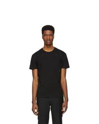 Moncler Black Logo T Shirt