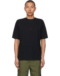 Stone Island Black Marina Seaqual T Shirt