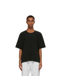 Homme Plissé Issey Miyake Black Monthly Colors August T Shirt