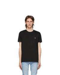 Lacoste Black Pima Cotton T Shirt