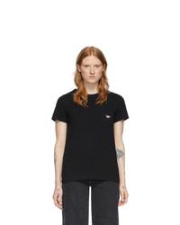 MAISON KITSUNE Black Pocket T Shirt