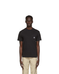 Stone Island Black Pocket T Shirt