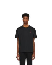 Polo Ralph Lauren Black Pony Logo T Shirt
