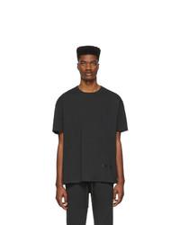 Essentials Black Reflective Logo T Shirt