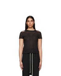 Rick Owens Black Seb T Shirt
