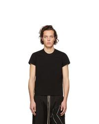 Rick Owens Black Short Level T Shirt
