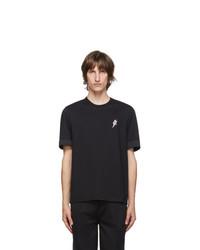 Neil Barrett Black Slim Fit Logo T Shirt