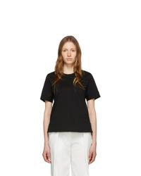 3.1 Phillip Lim Black Snap Cuff T Shirt