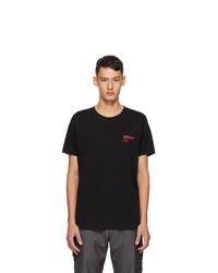 AFFIX Black Standardized Logo T Shirt