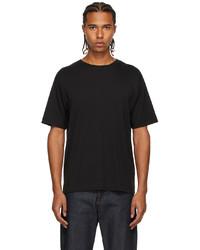 Dries Van Noten Black Supima Cotton T Shirt