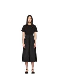 3.1 Phillip Lim Black T Shirt Dress