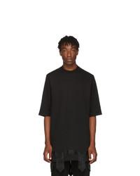 D.gnak By Kang.d Black Tape Detail T Shirt